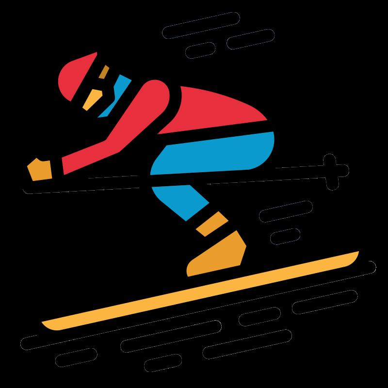 Glosario de Esquí (o Ski): esquí acuático, esquí de nieve o alpino, esquí nórdico o de fondo, esquí de travesía o de montaña.