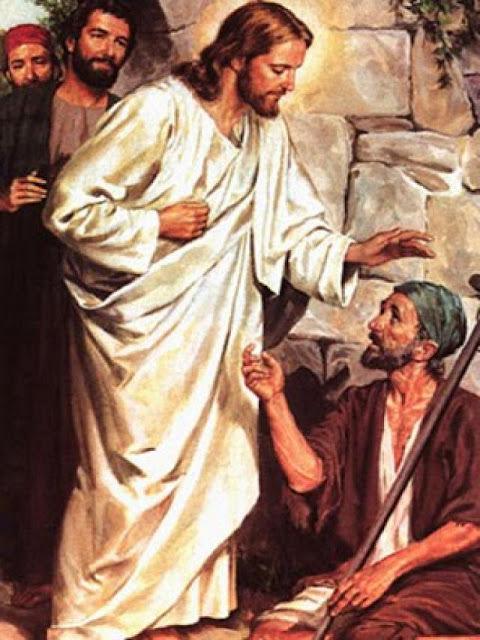 Jesús curando a un hombre hidrópico (Lucas 14:1-6)