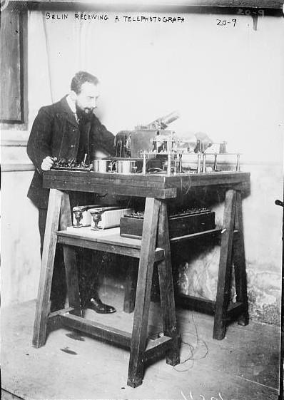 El Belinógrafo de Édouard Belin de 1913