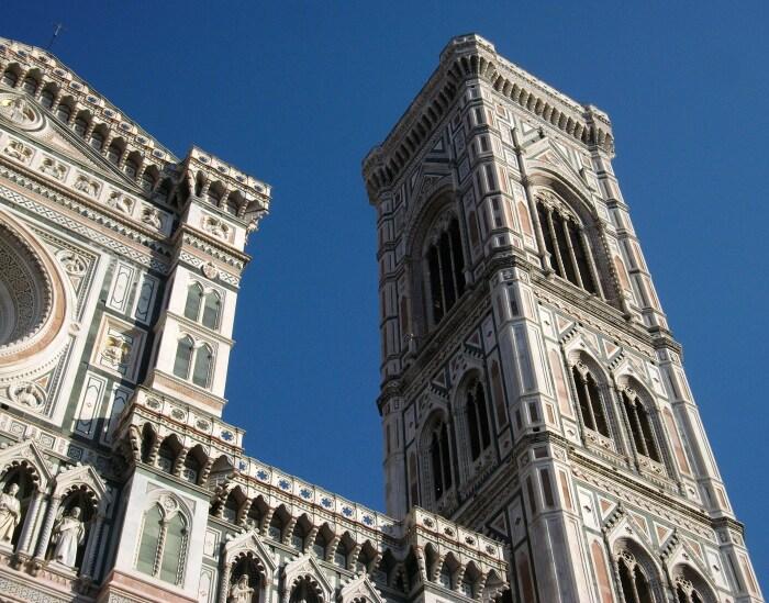Campanario de la Catedral de Santa María dei Fiore, en Florencia