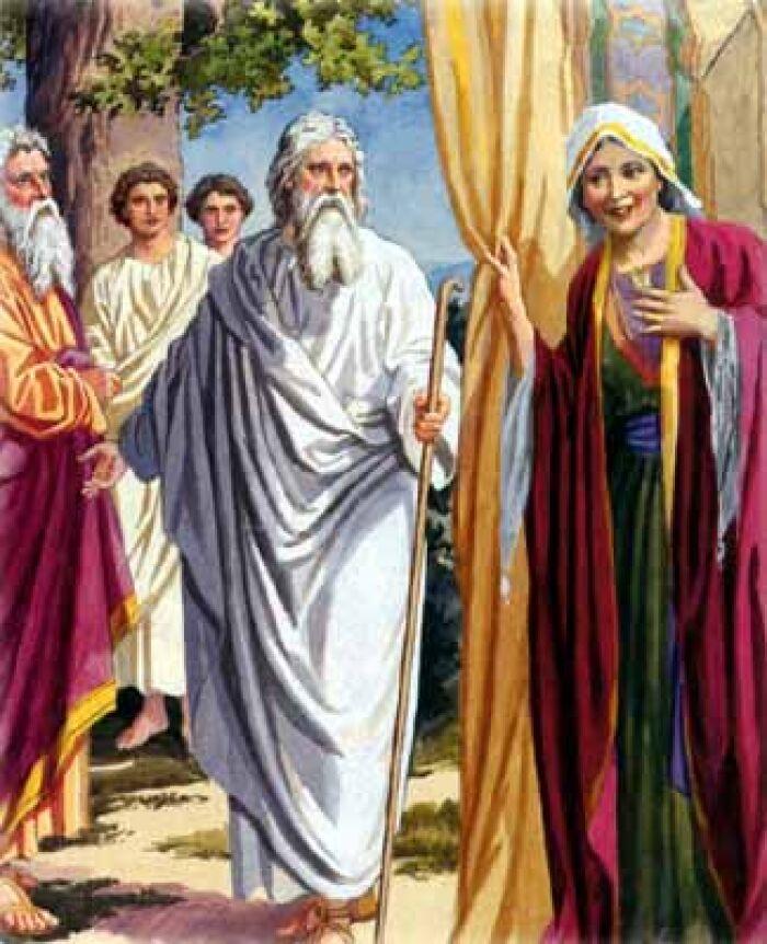 Abraham y Sarah