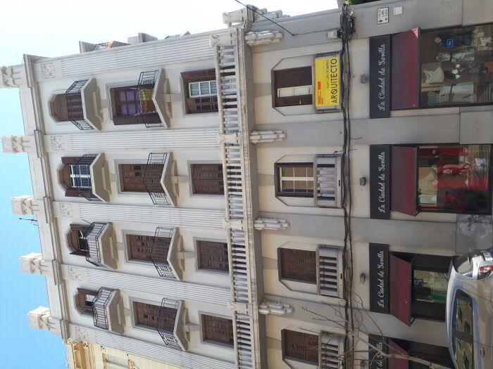 Balconaje de un edificio