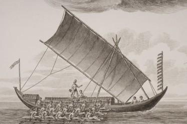 En la imagen un caracore de Borneo, grabado de Thomas Milton (1743-1827) del año 1820