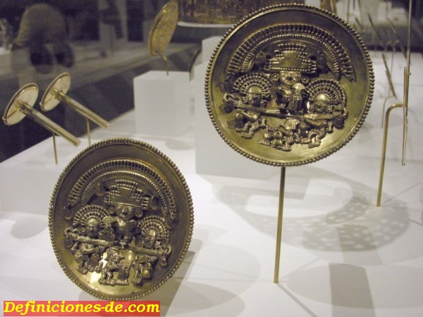 Siglo XI-XV, cultura chimú. Museo Metropolitano de Nueva York.
