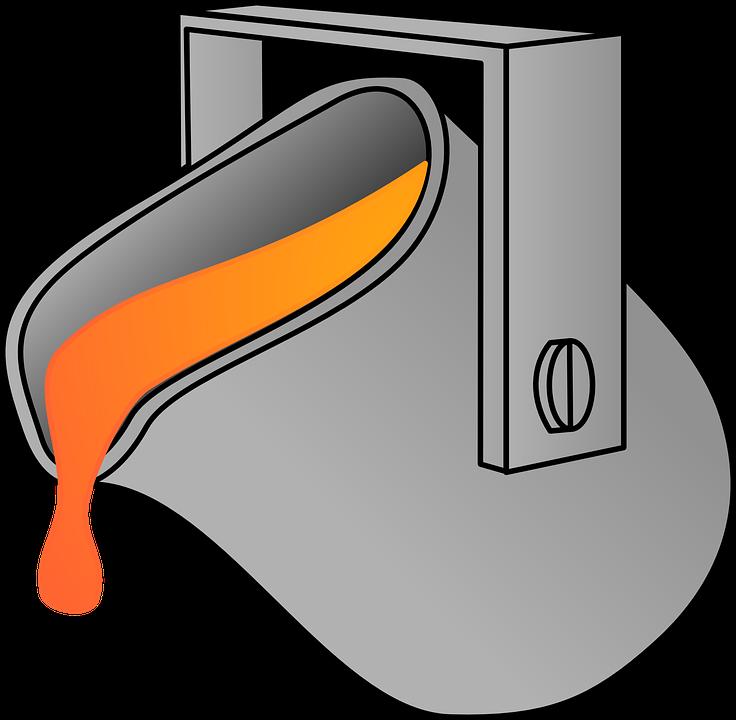 Crisol: Depósito inferior de los hornos que recoge el material fundido.