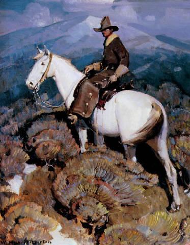 abigeato: hurto de ganado o bestias. El abigeato es un delito que consiste en el robo de animales, especialmente de ganado, con el fin de comercializarlos o faenarlos. También es llamado cuatrerismo. Pintura que retrata un cuatrero (de W.H.Dunton)