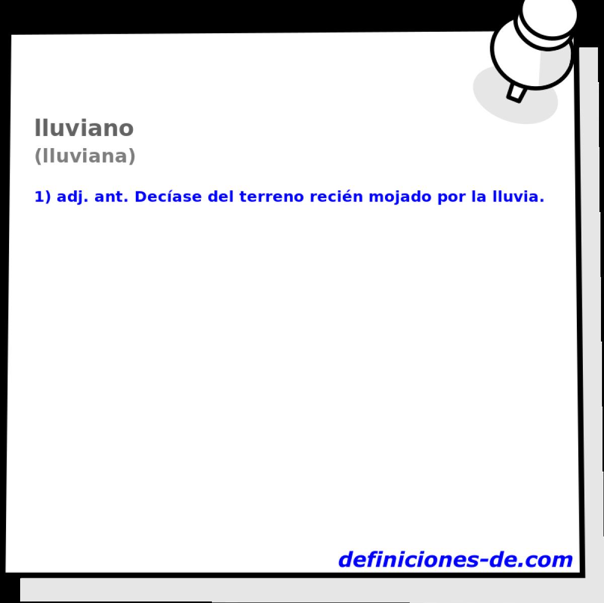 Lluviana