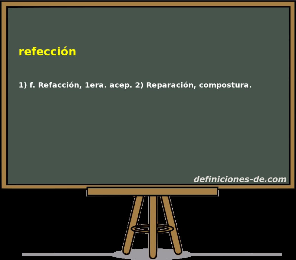 Qué Significa Refección