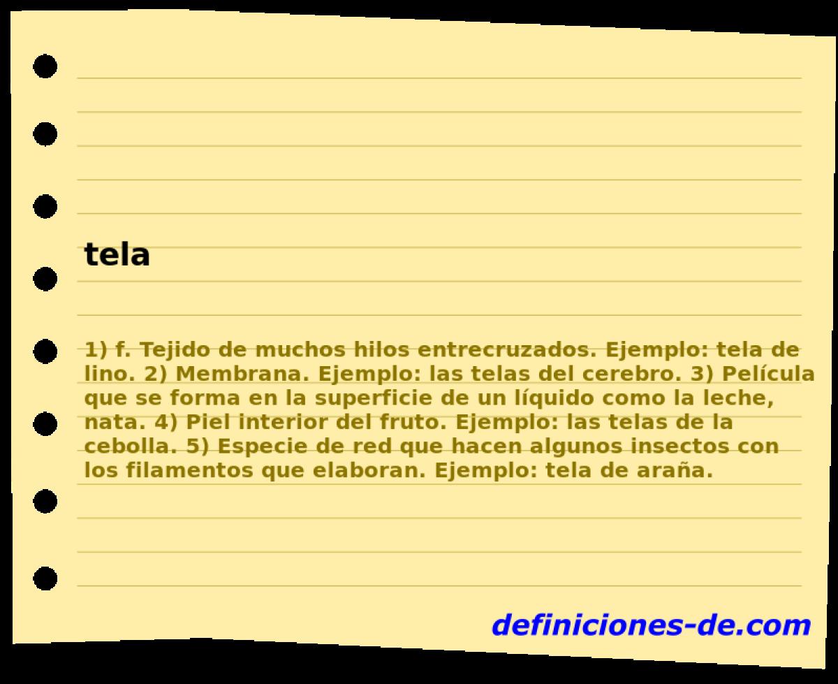 43d5b78c1f ¿Qué significa Tela