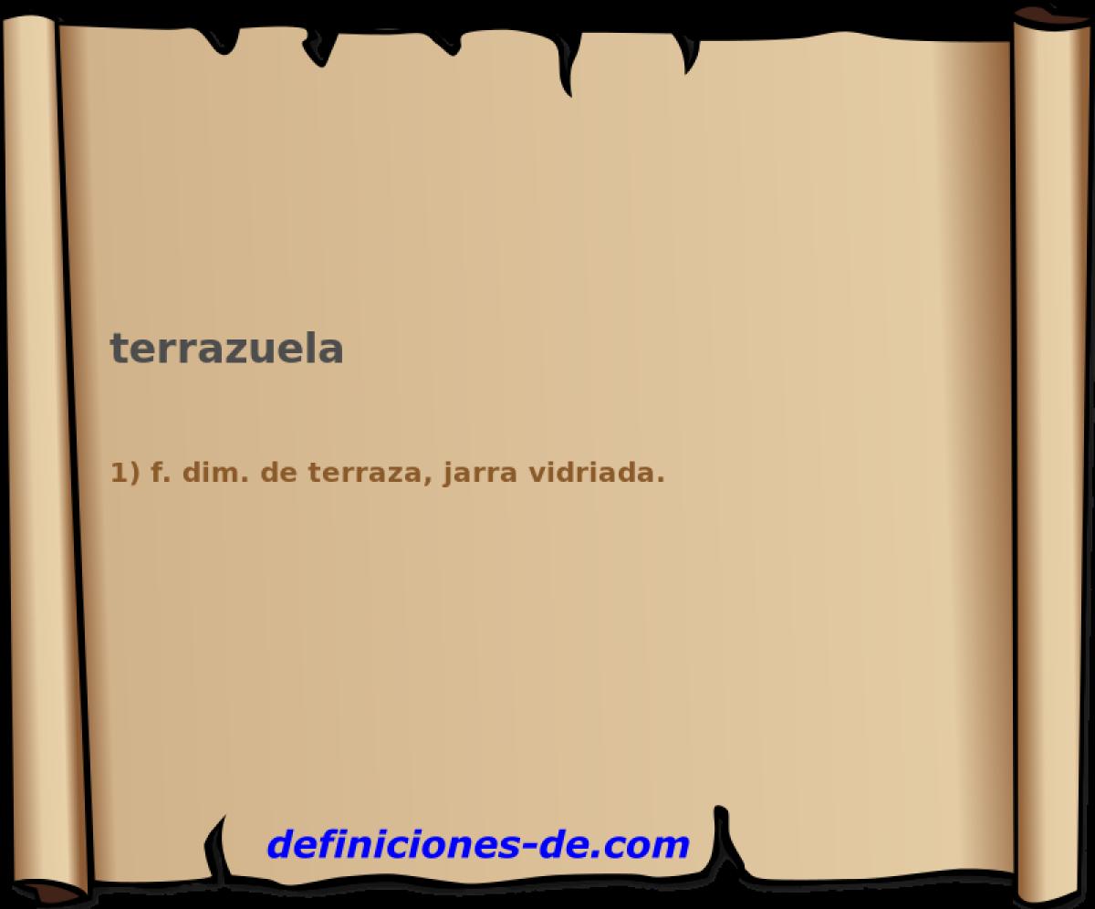 Qué Significa Terrazuela