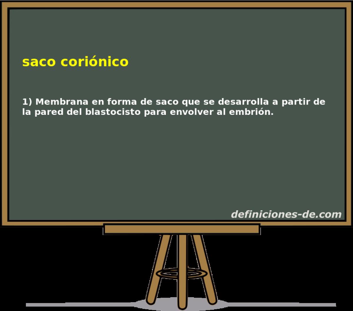 ¿Qué significa Saco coriónico  91eb3bbfa65f