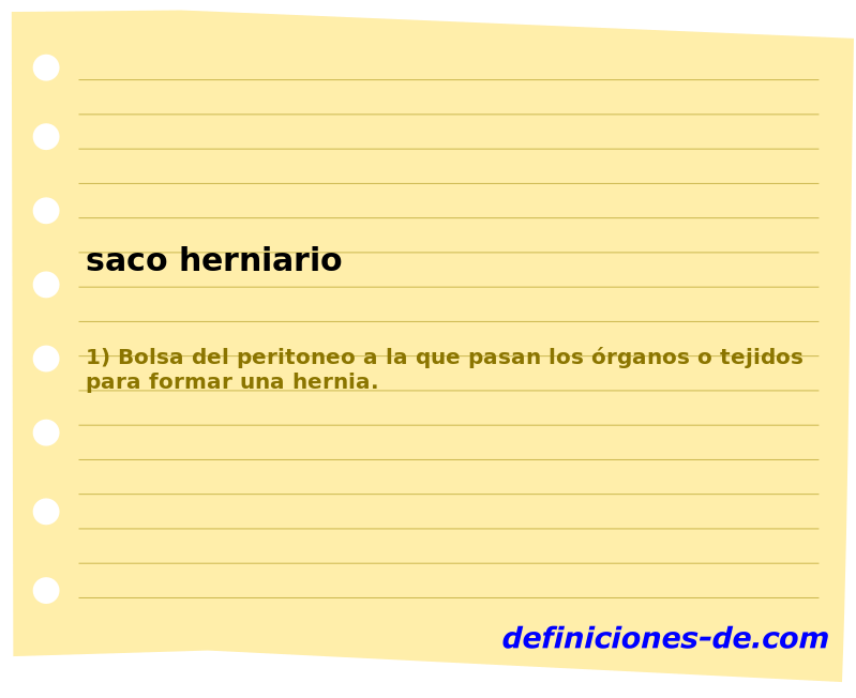 ¿Qué significa Saco herniario  8cbc4d1f188c